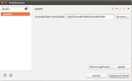JavaFX の UI を構築する Scene Builder のセットアップ - Java 入門